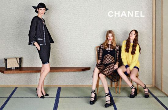 Chanel's Spring 2013 Campaign