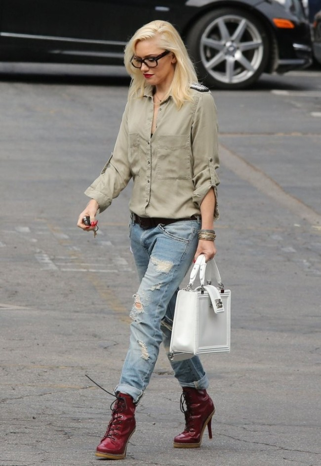 Gwen Stefani - The Style Icon - fashionandstylepolice ... гвен стефани