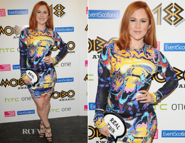 Katy-B-In-Christopher-Kane-2013-MOBO-Awards