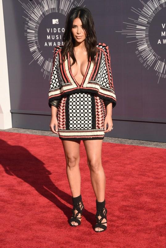 kim-kardashian-2014-mtv-vmas-balmain