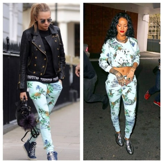 who-wore-it-better-cara-delevingne-rihanna-zoe-karssen-paradise-sweatpants
