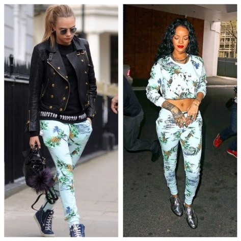 who-wore-it-better-cara-delevingne-rihanna-zoe-karssen-paradise-sweatpants