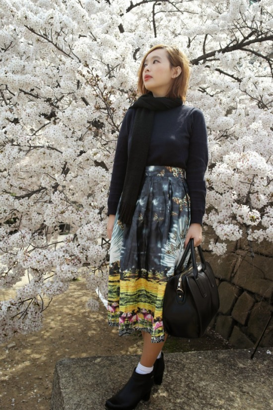 Picture 4 - Flowery Skirt