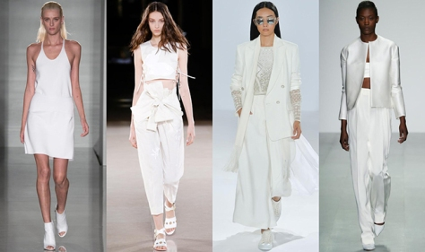 MyBeautiful Dressing LFW SS15 Trend Clinical white