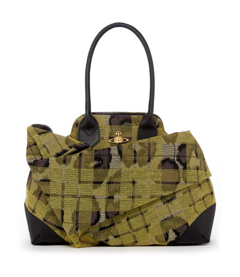 Leopard Tartan Bag 6789 Yellow
