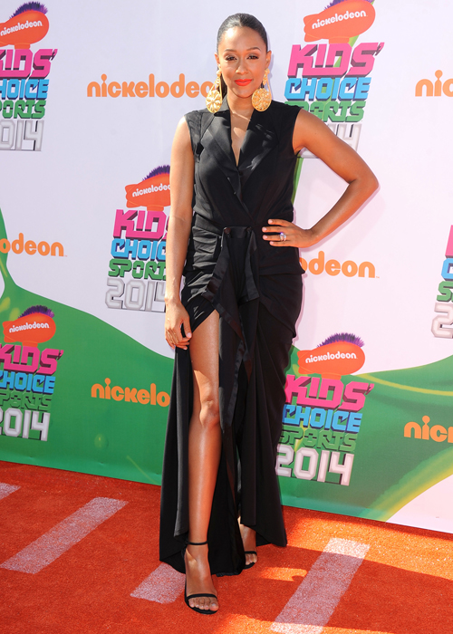 Nickelodeon Kids' Choice Sports Awards 2014 at Pauley Pavilion Featuring: Tia Mowry Where: Los Angeles, California, United States When: 17 Jul 2014 Credit: Bridow/WENN.com