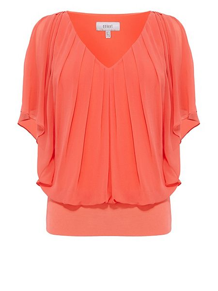Coast Orange Top