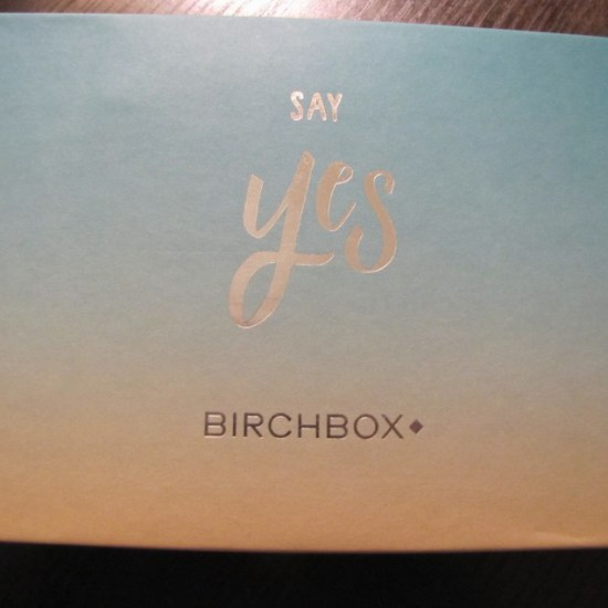 Say Yes Birchbox