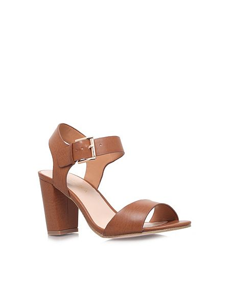 Silver Carvella Flat Shoe