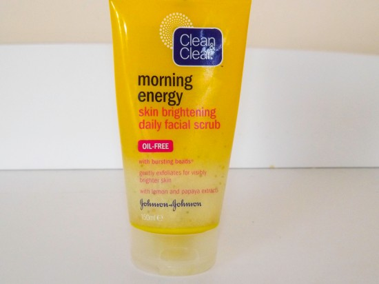 Clean and Clear Morning Energy