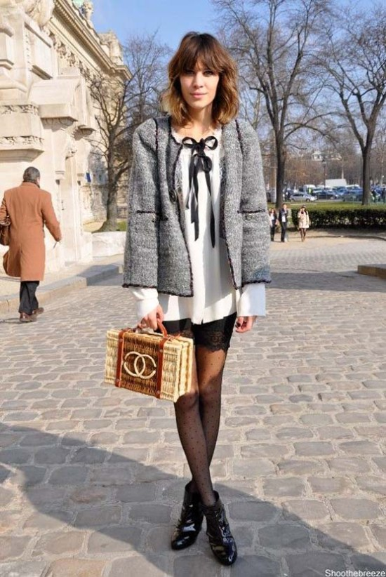 The Style Icon Alexa Chung Fashionandstylepolice