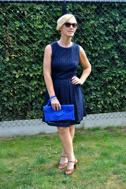 midnight blue dress