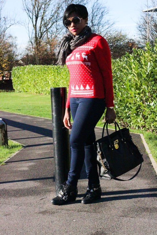 Christmas Jumper Look