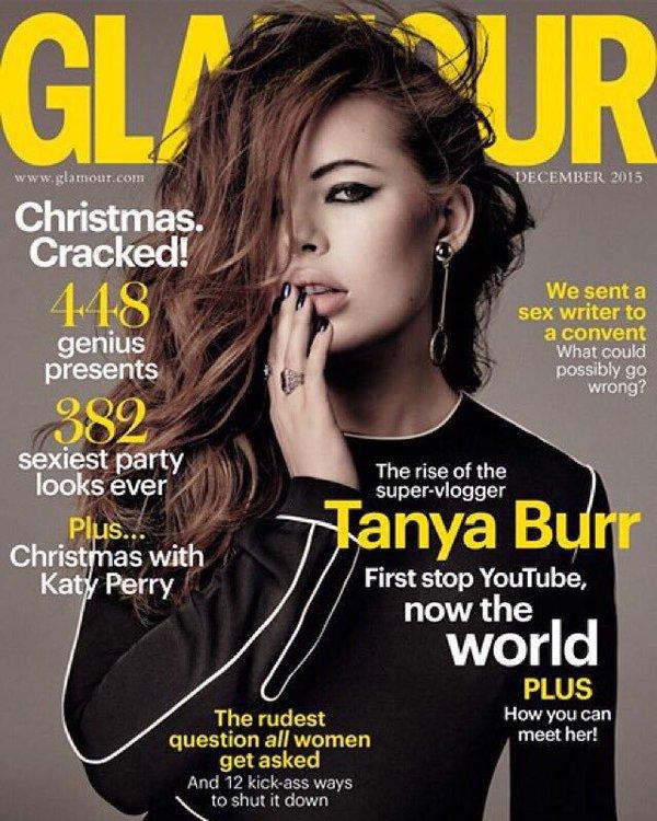 Tanya Burr Covers Glam...