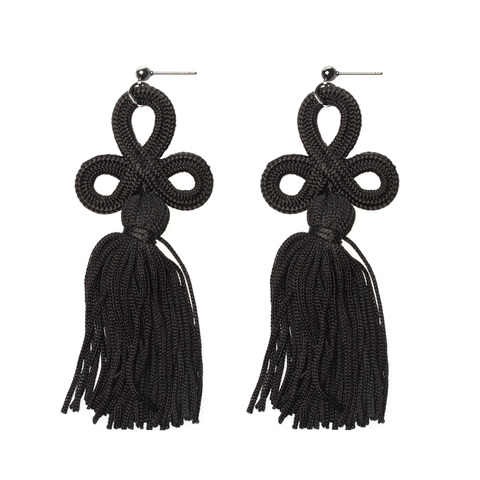 HUGE-BLACK-TASSEL-EARRINGS_large