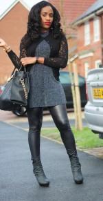 OOTD: How To Wear LeatherLeggings