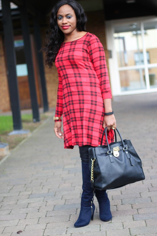 Nothing Clothing Company Tartan Dress