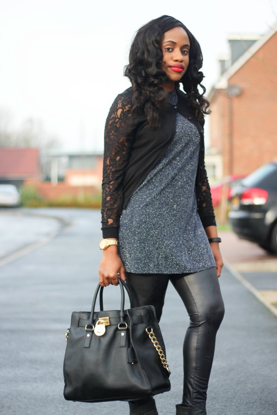 OOTD: How To Wear Leather Leggings