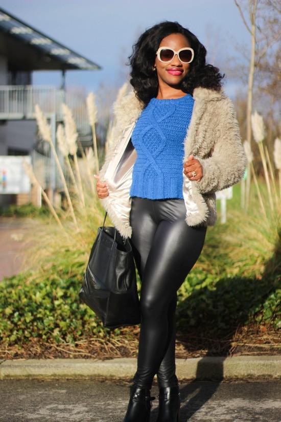 OOTD Leather Pants