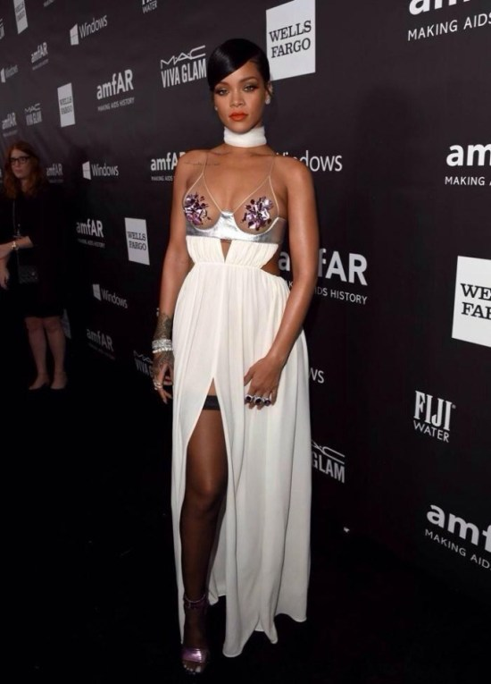Rihanna in Tom Ford