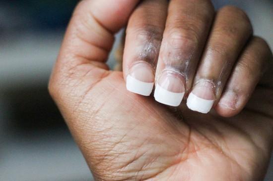 Soaking Off Nails Image