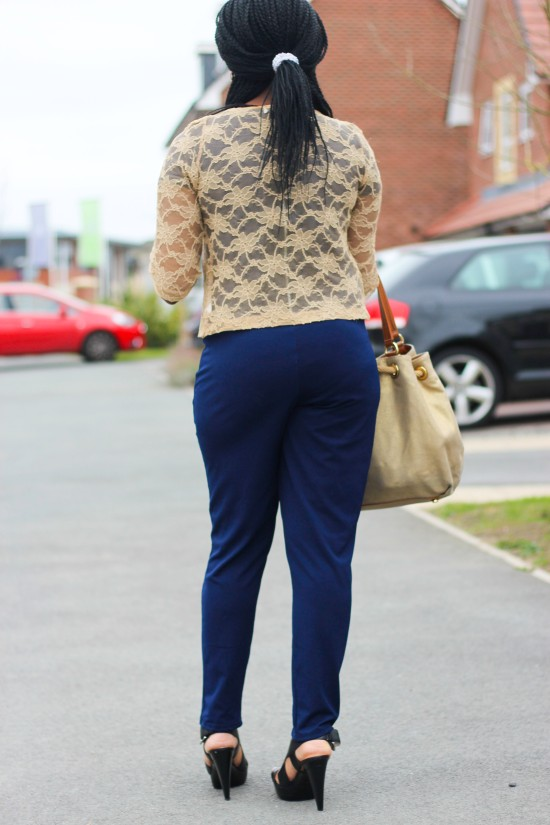 Outfit Post Closet Bolero Lace Jacket