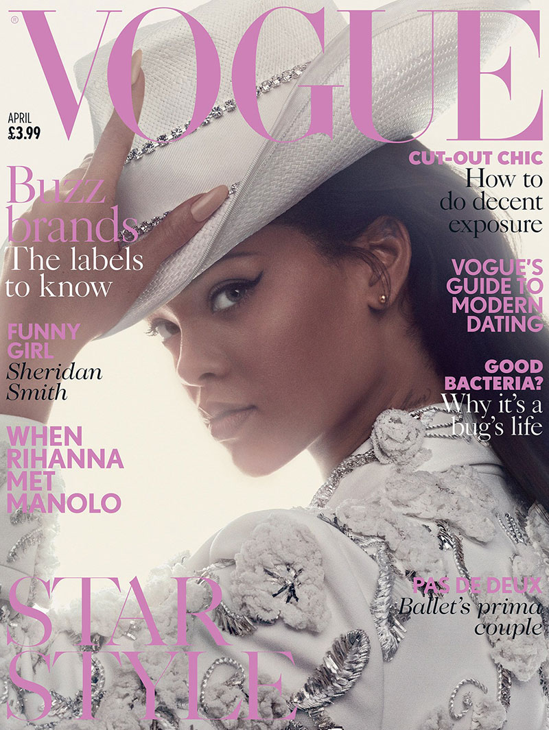 Fashion Magazine March 2017 Cover Sophie Grégoire Trudeau: Rihanna Covers British Vogue April 2016