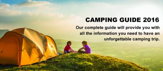Halfords Camping Guide 2016
