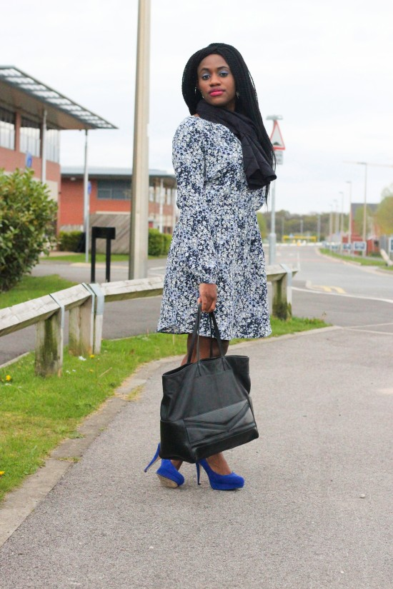 Next Blue Dress Image