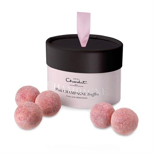 Hotel Chocolat Pink Chanpagne Truffles Image