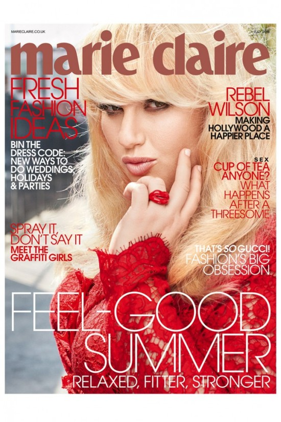Rebel Wilson Marie Claire July 2016