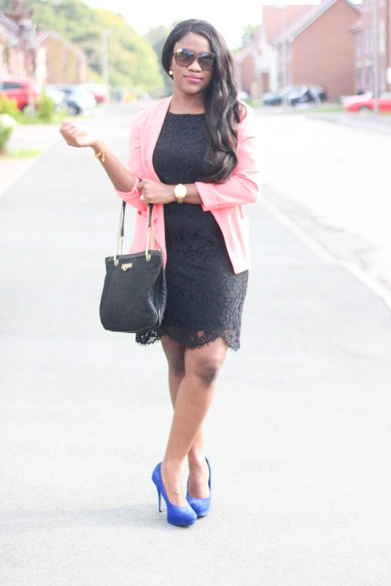 black-lace-dress-and-blazer-image