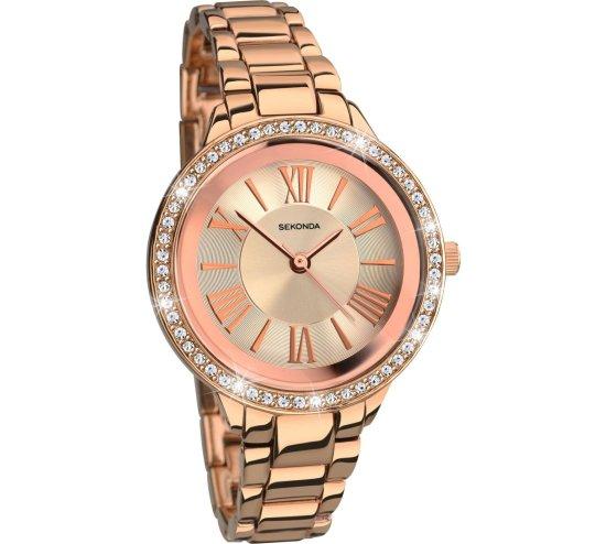 Sekonda Rose Gold Bracelet Watch Image