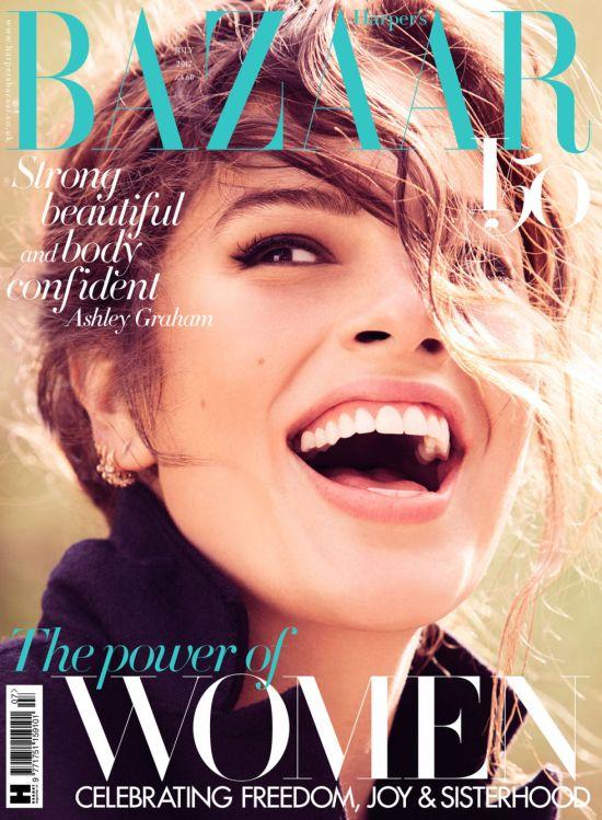 Ashley Graham Harper's Bazaar Image
